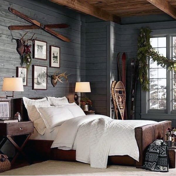Mens Bed Room Cabin Design
