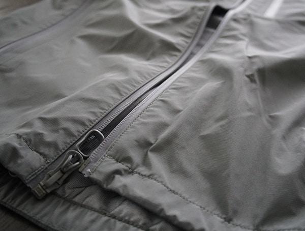Mens Beyond Clothing K6 Arx Rain Jacket Center Zipper Open