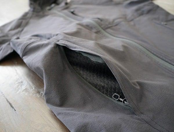 Mens Beyond Clothing Velox Light Softshell Side Hand Pockets