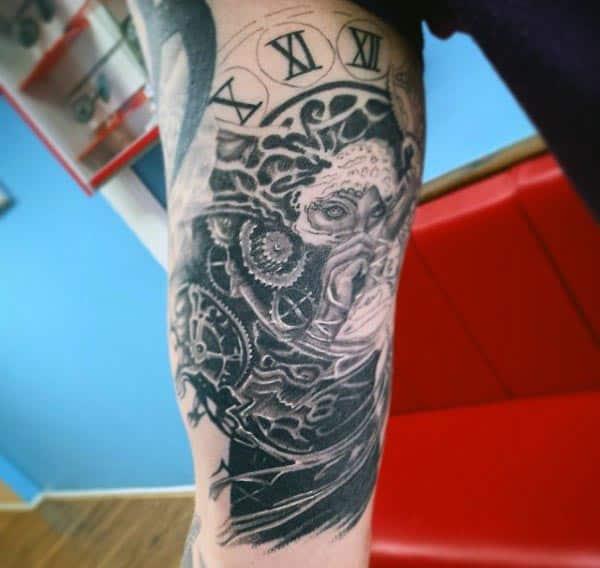 Men's Bicep Tattoo Design Ideas