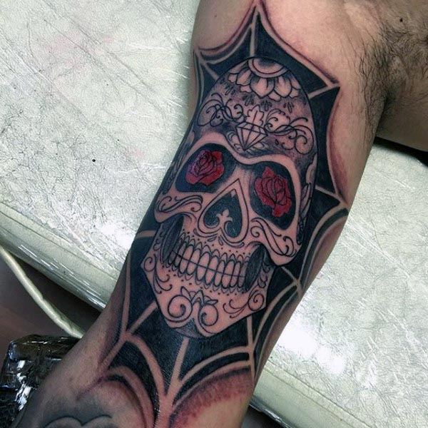 Men's Bicep Tattoo Design Inspiration