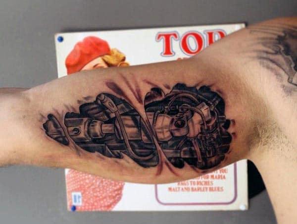 Men's Bicep Tattoo Ideas