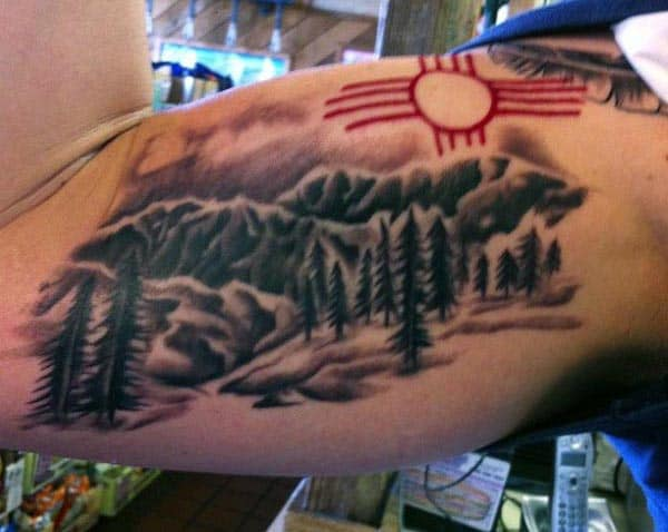 Men's Bicep Tattoos Designs