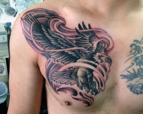 Men's Birds Of A Feather Tattoo