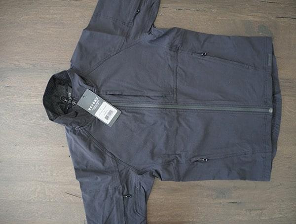 Mens Black Beyond Clothing K5 Velox Light Softshell Jacket