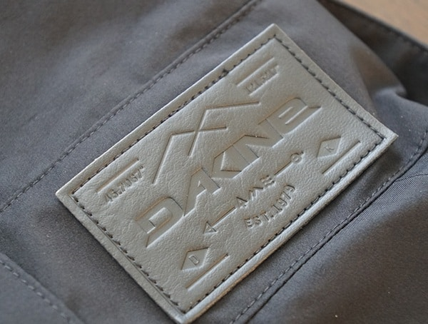 Mens Black Dakine Stoker Gore Tex 3l Bib Leather Embossed Logo Patch