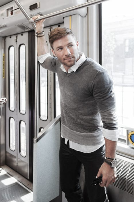 Mens Black Jeans What To Wear With Outfits Style Looks Grey Sweater