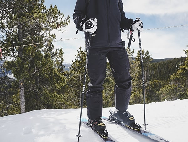 Mens Black The North Face Fuse Brigandine Skiing Bibs Review