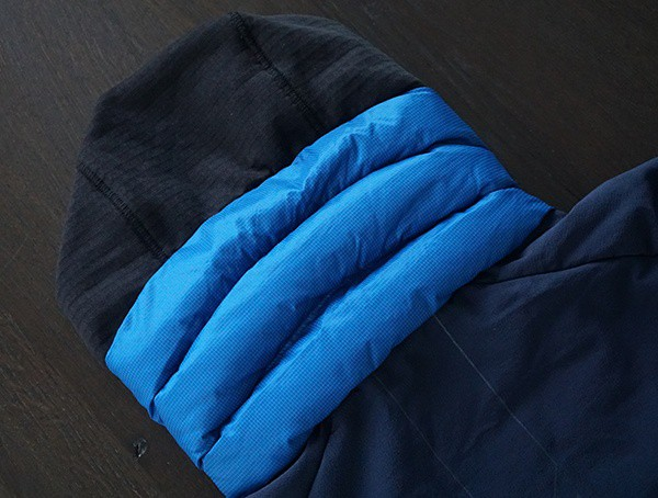 Mens Blackyak Bakosi Jacket Insulated Hood Detail