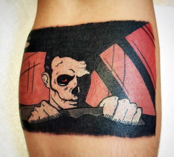 Mens Blink 182 Tattoo Design Ideas
