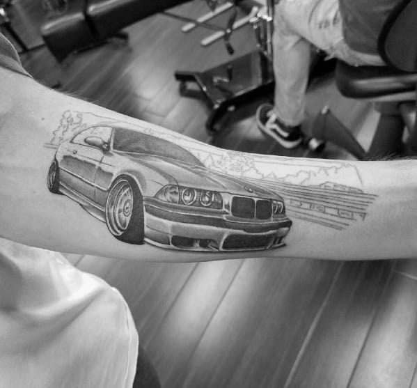 Mens Bmw Tattoo Designs