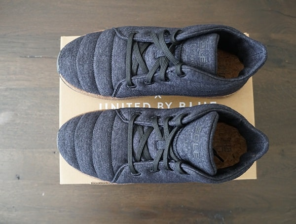 Mens Boots Sole X United By Blue Jasper Wool Eco Chukka