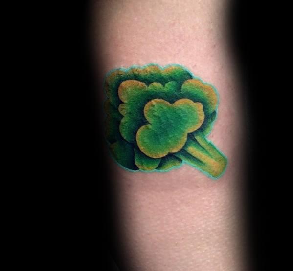 Mens Broccoli Tattoo Ideas