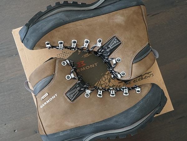 Mens Brown Nubuck Leather Garmont Dakota Lite Gtx Boots