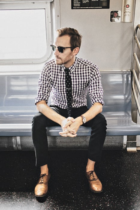 Mens Business Casual Outfits Outfit Style Ideas Checkered Shirt With Tie