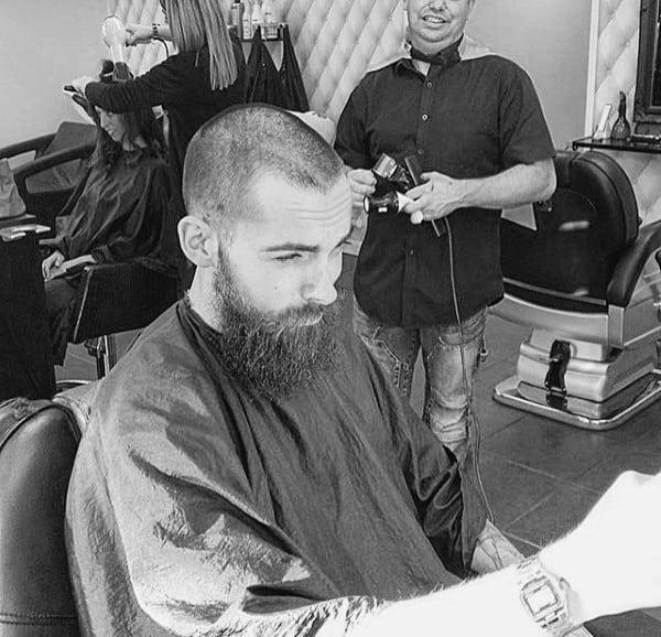 Mens Buzz Cut Hair
