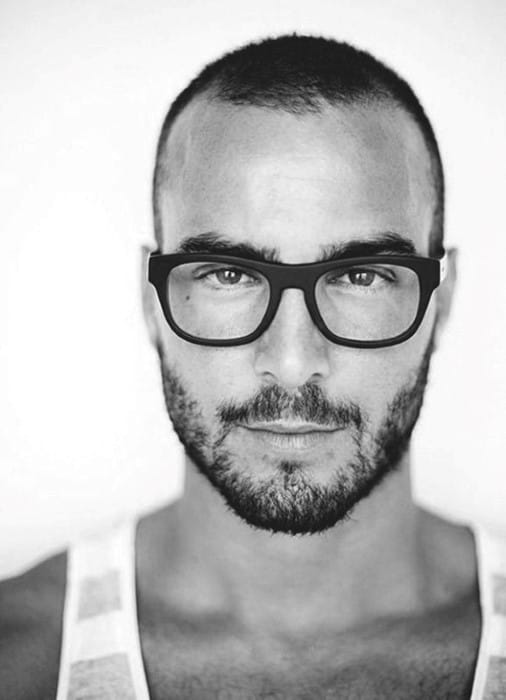 Mens Buzz Cut Stylish Hairstyles