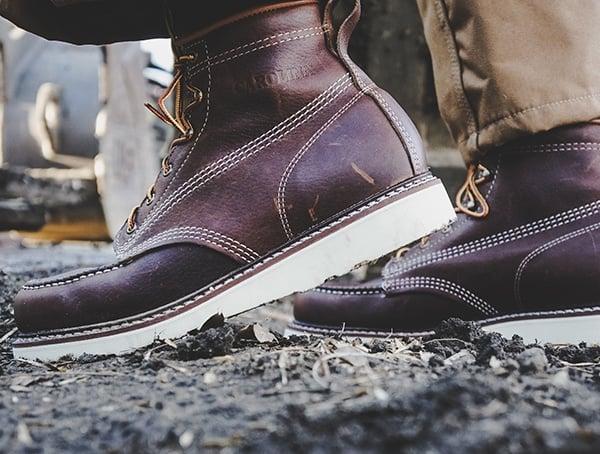 Mens Carolina Footwear Moc Toe Wedge Work Boot Reviews