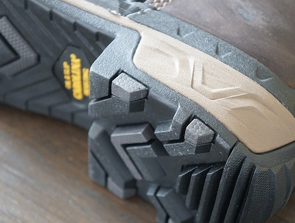 Mens Carolina Maximus 2 0 Comp Toe Logger Boot Durable Heel Detail