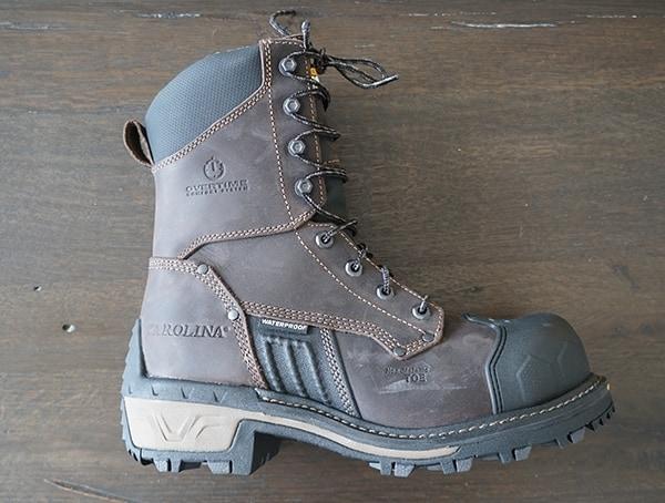 Mens Carolina Maximus 2 0 Comp Toe Logger Boot Side Two
