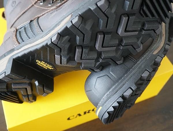 Mens Carolina Maximus 2 0 Comp Toe Logger Boot Tread Pattern Outsole