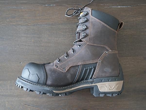 Mens Carolina Maximus 2 0 Comp Toe Logger Boots Side One