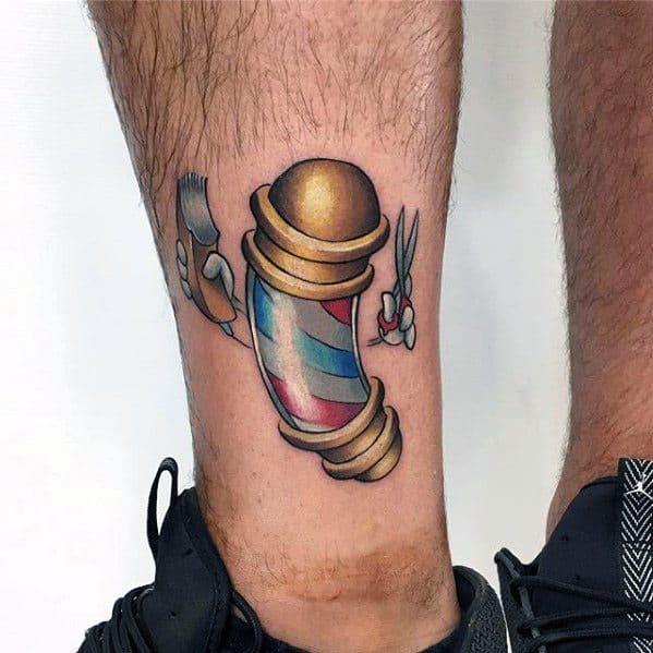 Mens Cartoon Tattoo