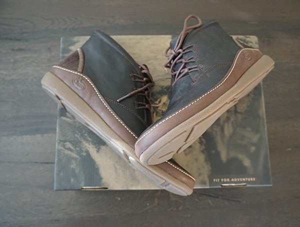 Mens Chaco Montrose Chukka Boots Top