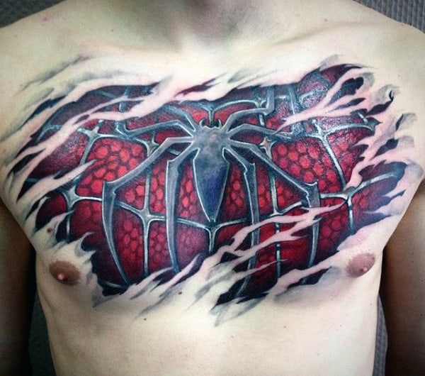 Image result for Spiderman tattoo