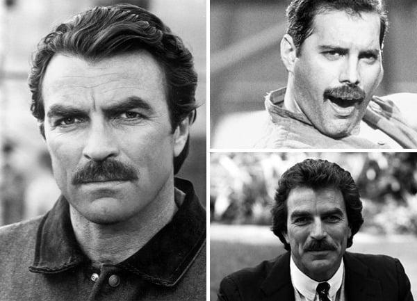 Mens Chevron Mustache Style