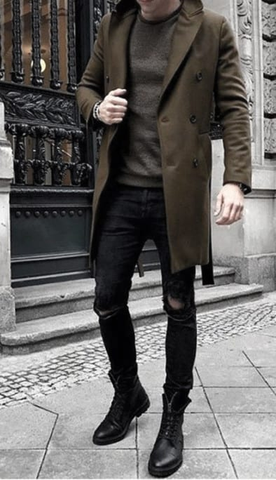 Mens Chic Winter Outfits Style Designs
