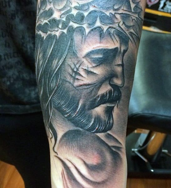 Mens Christian Tattoo Designs