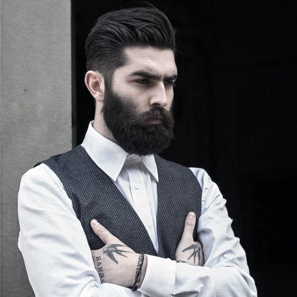 Mens Classy Beard Dapper Style Ideas