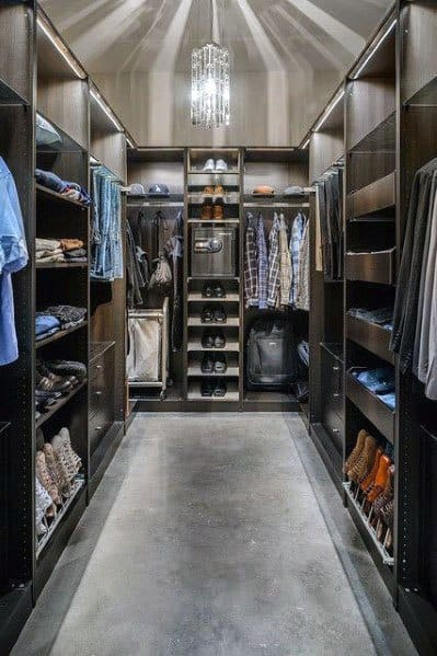 Mens Closet Lighting Ideas Inspiration