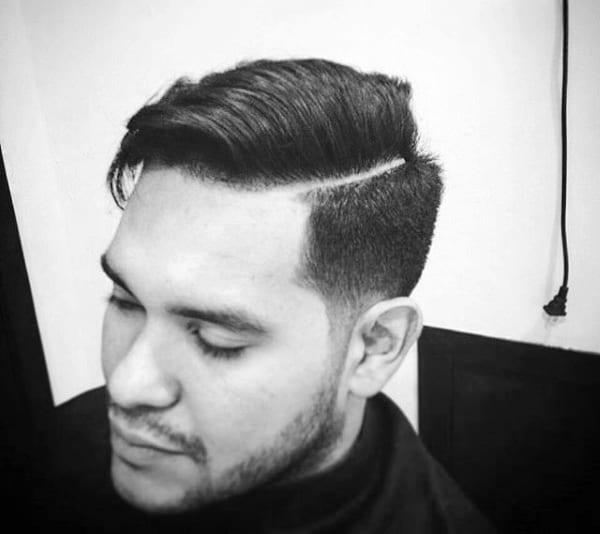 Mens Comb Over Fade Hair Ideas