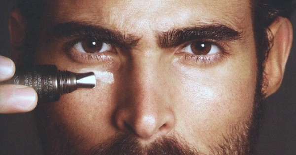 dark circles under eyes men