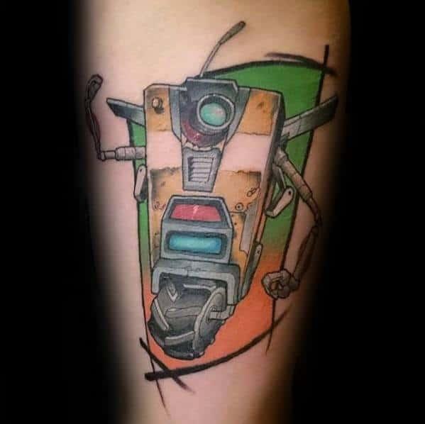 Mens Cool Borderlands Tattoo Ideas
