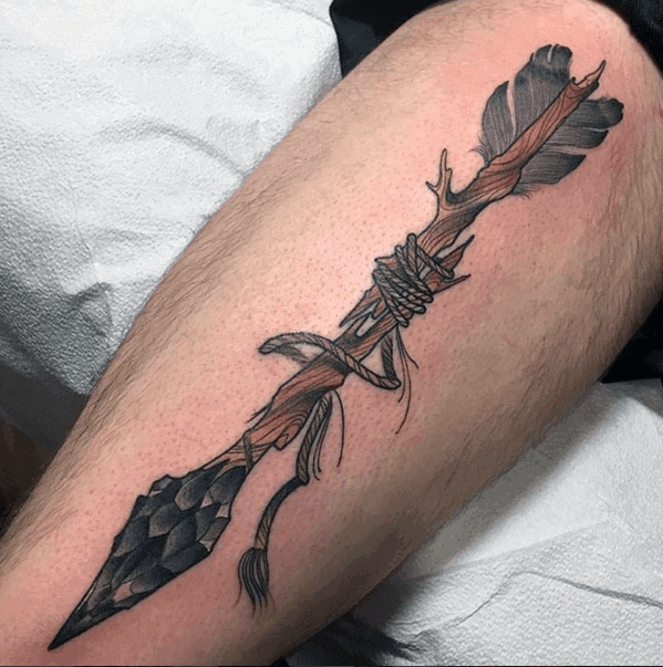 Mens Cool Broken Arrow Tattoo Ideas