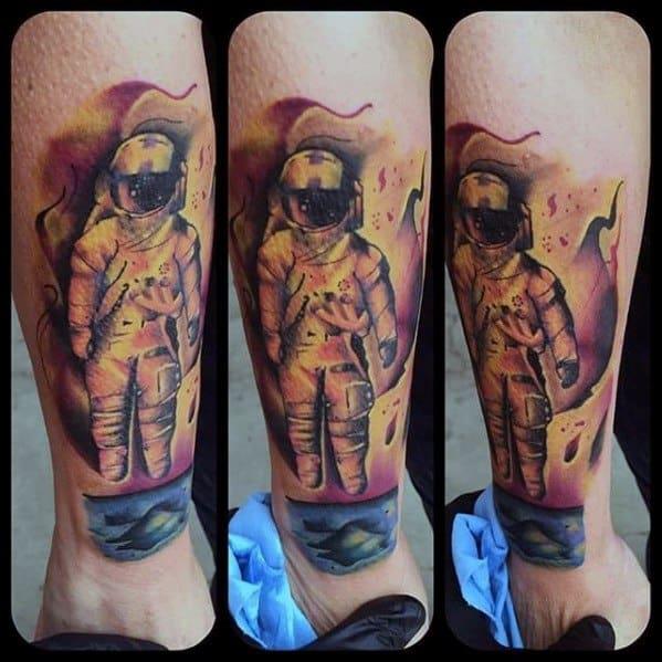 Mens Cool Deja Entendu Tattoo Ideas