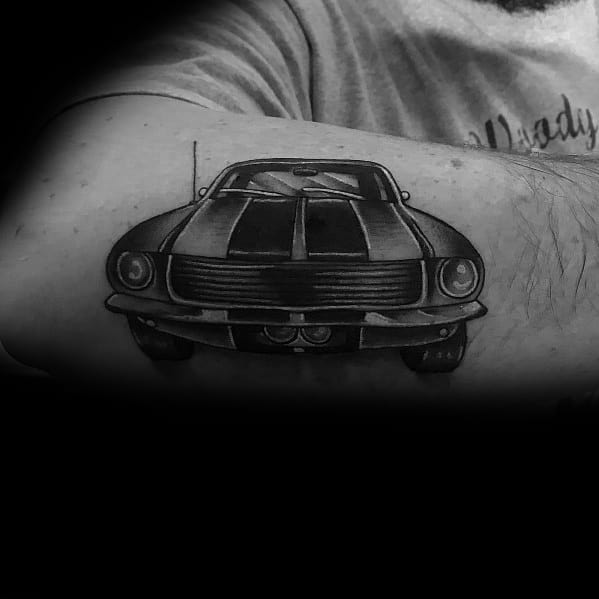 Mens Cool Ford Tattoos