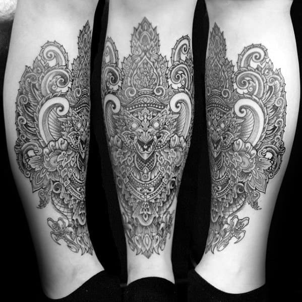 Mens Cool Garuda Tattoo Ideas