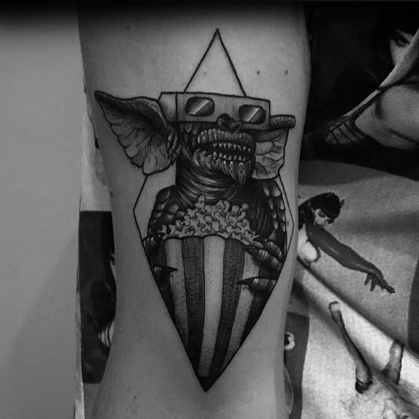 Mens Cool Gremlin Tattoos