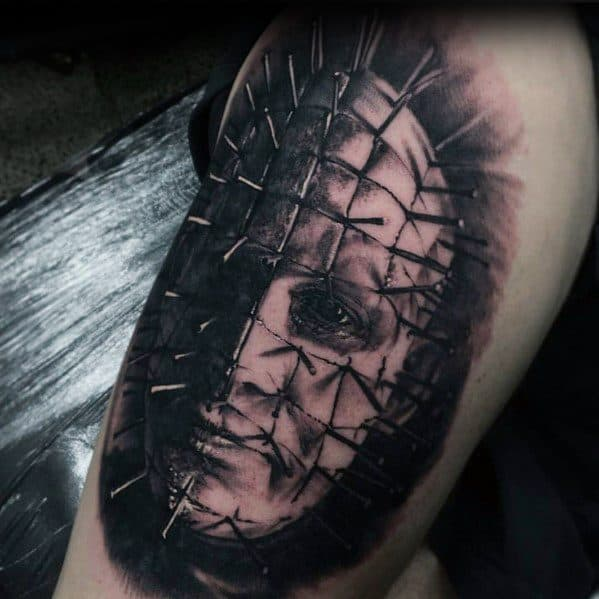 Mens Cool Hellraiser Tattoos