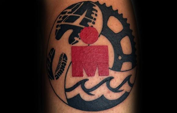 Mens Cool Ironman Tattoo Design Inspiration