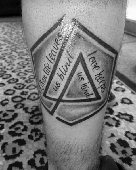 Mens Cool Linkin Park Tattoos