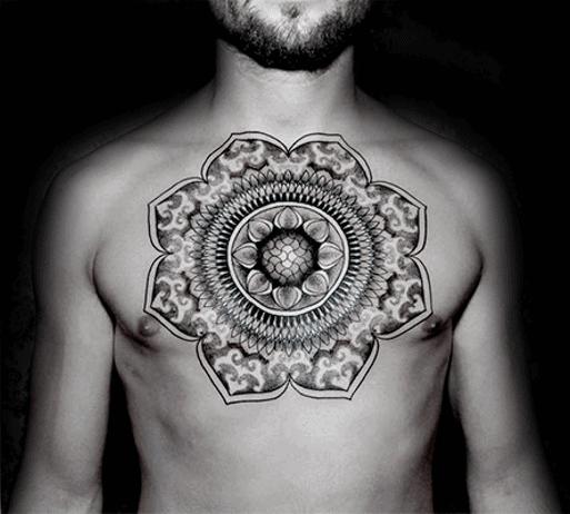 Mens Cool Mandala Tattoo Ideas