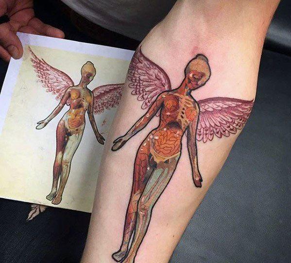 Mens Cool Nirvana Tattoo Ideas