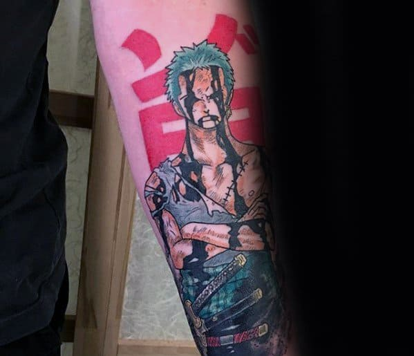 Mens Cool One Piece Inner Forearm Tattoo Design Inspiration