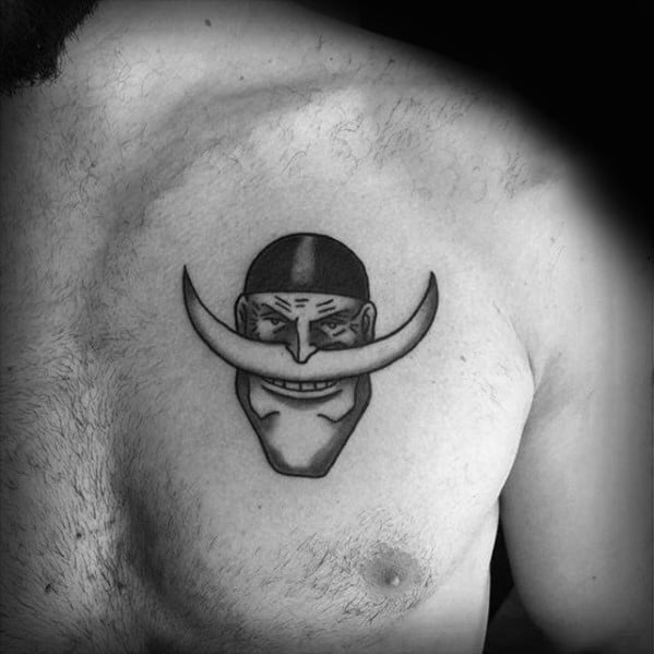 Mens Cool One Piece Upper Chest Small Tattoo Ideas