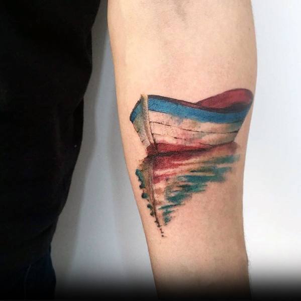 Mens Cool Reflection Tattoos